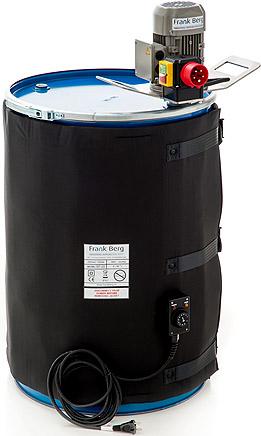 Calefactores para Tambores, calentadores de tabores, calefacción para tambores, 200L, chaquetas para tambor, industria