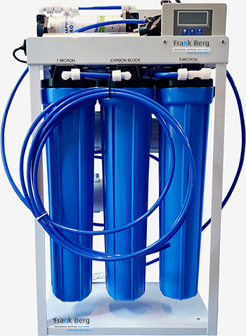 ibc container, osmose systeem voor ibc tanks, 1000L tank, osmose filter, omgekeerde osmose, industriële omkeer osmose systemen, omgekeerde osmose water, ro filter, reverse osmosis, waterzuivering,  osmose filters, osmosewater installatie, osmose systeem, omgekeerde osmose apparaat