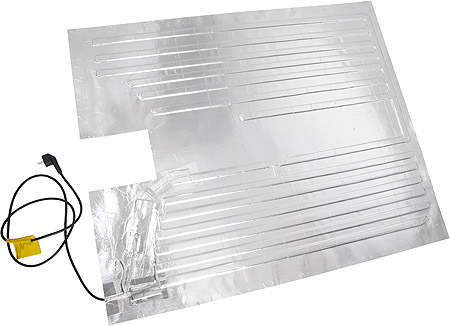 verwarmings mat IBC container, tank verwarming, aluminium, verwarmer, verwarming