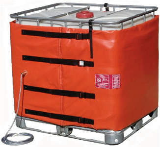 ATEX IBC container heating, EX IBC tote heating, ATEX, EX, explosion proof, tote, ibc, heating, heaters, ibc heating jackets, ibc heating blankets, blanket, ibc heaters