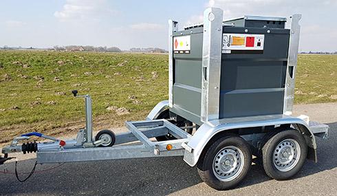 Mobiele brandstoftank ibc staal kunststof dieseltank mobiel for Mobiel te koop