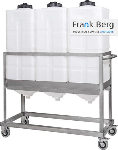square dosing tank, rectangular process vessels, conical process tanks, plastic tank, silo, conical bottom, plastic dosing tanks, PE tanks, battery frame