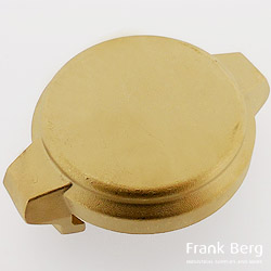 Brass TW couplings, type MB, Dust cap, Tank truck coupling type MB