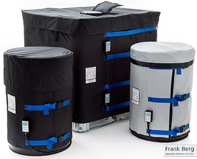 Riscaldamento del contenitore IBC, riscaldamento IBC, serbatoio, ibc, riscaldamento serbatoio,  riscaldamento, coperte riscaldanti ibc, Coperte termiche per cisterne, coperta riscaldante,