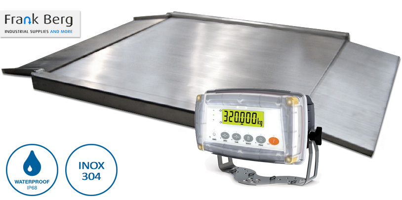 stainless steel scale, pallet scale, industrial scale, ibc tank scale, scales, tote scale, drive through scale, weighing platform, food grade