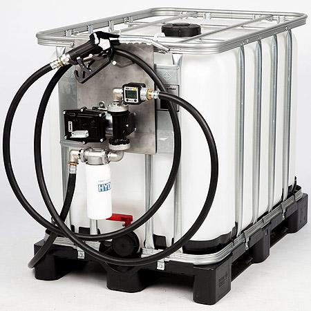 Petrol pump, atex pump, Gasoline ATEX IBC pump, ibc container pump, diesel pump, EX certified pump, fuel tote pump