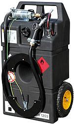 mobiele benzinetank, mobiele benzine tank benzine pomp benzine trolley