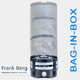 bag in box, container revolution, containerevolution, verpakking, 100L, vat, tank
