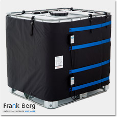 ibc container heating, tote heaters, 1000L tank heater, ibc heating jacket