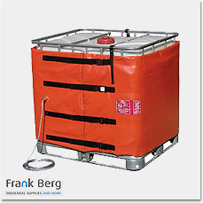 IBC container tote heaters, IBC heating jackets, ATEX drum heaters