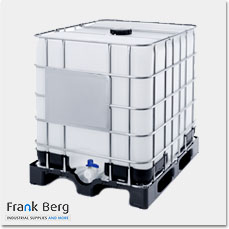 used ibc containers, reconditioned ibc containers, used 1000 liter tote