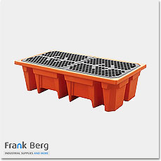 bund, ibc bunds, spill trays, spill containment, drum trays