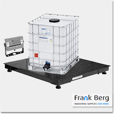 ibc scales, tote scale, weighing platform, ibc containers, 1000L tanks, tank scale, calilbrated scales, industrial scales