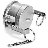 camlock koppeling 316 rvs stofkap dust cap type DC