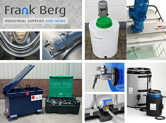 frank berg industrial supplies contact