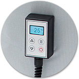 IBC heating, heater, digital thermostat