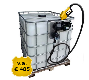 biodiesel pomp, biodiesel verpompen, tanken