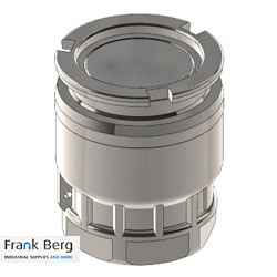Dry Break coupling Tank Unit DN80 3""