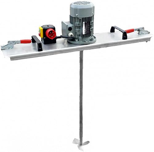 Sistema de mezcla IBC para líquidos de viscosidad ligera