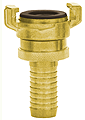 Brass GK Coupling with hose tail