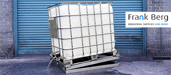 ibc tilter, ibc tipper, mechanism for draining ibc, totally empty your ibc container, 1000L tote