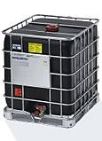 zwarte ibc container, atex ibc, atex, ex, schütz ibc, ex zone 1 en 2, antistatische ibc container, geleiddend, 1000 liter, ibc zwart