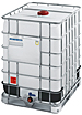 ibc container, new ibc totes, plastic caged tank, IBC 1250 liter, 330 gallon tote