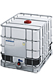 ibc container, new ibc totes, plastic caged tank, IBC 820 liter, 216 gallon tote