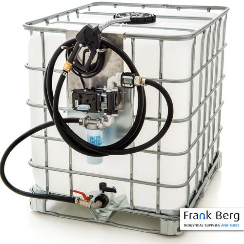 ATEX benzine pomp ibc container tank benzine verpompen elektrische pompen, zone II 2 G explosievrije pomp
