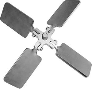 ibc mixer, roerwerk inklapbare propeller, klappropeller, schroef