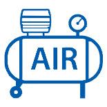 Pneumatische Kippgeräte für IBC Behälter, ibc-Kipper, ibc container Kippgerät, Druckluft, manuell öffnen und schließen