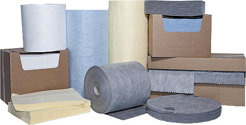 Absorptiematerialen, Absorptieslangen, absorptiedoeken, absorptiesokken, absorptiekorrels, absorptiematten