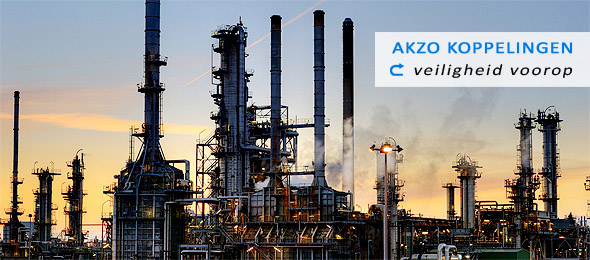 AKZO couplings, acids, alkalis, transport coupling
