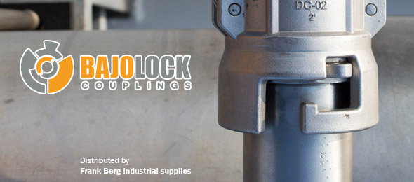 BAJOLOCK couplings, safety couplings, camlock safety coupling,