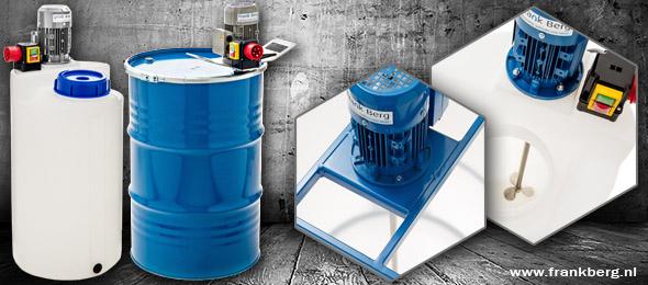 Agitadores de tambor - 200L - Tanques de dosificación