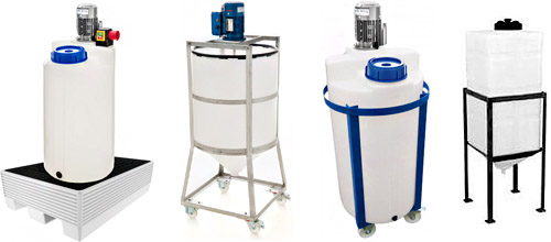 dosing tanks, plastic mixing tank, dosing tank agitator, chemical process tank
