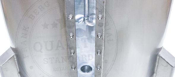 cuve de mélange en acier inoxydable, cuves en acier inoxydable, agitateur, mélangeur, agitateur,