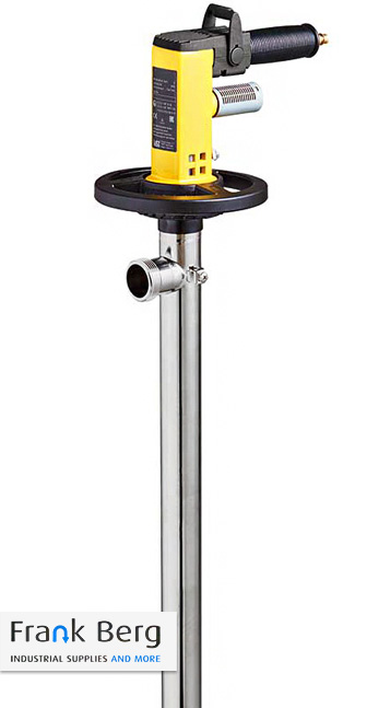 IBC pump medium to viscous liquids, eccentric screw pump for totes, ibc containers