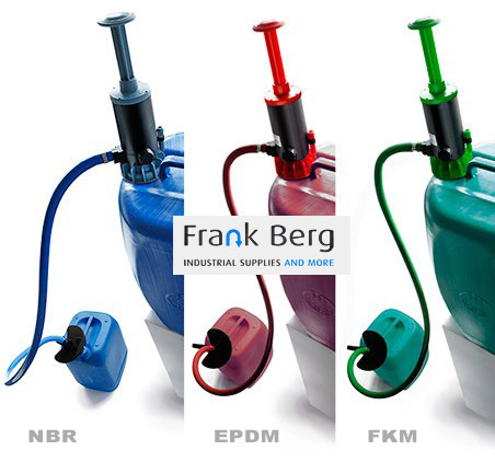 jerrycan handpomp, jerrycan pompje, pomp jerrycans, zuren, logen, alkalische oplossingen, olie, brandstof, handpomp vaten, handpomp tank