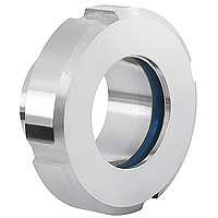 sight glass, DIN 11851, Dairy coupling, dairy connection, dairy thread