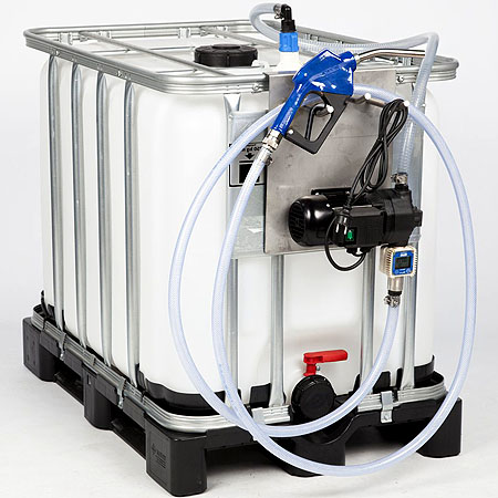 tote pumps, ibc pump, IBC container pump for (osmosis) water