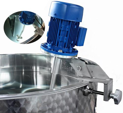 roerwerken voor rvs productie vaten vloeistofvaten dekselvaten process mixer inox blender