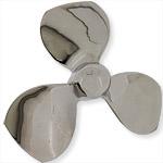 rvs propeller roerwerk impeller, edelstaal schoep vaste propeller, schroef