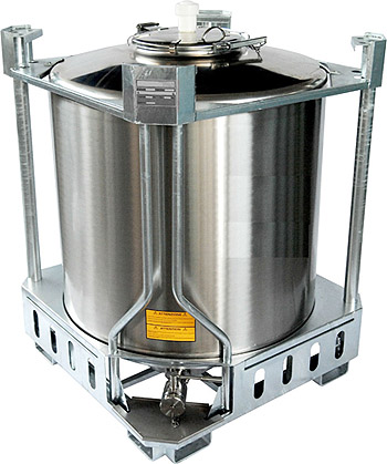 stainless steel IBC tank, stainless steel ibc container, stackable tank