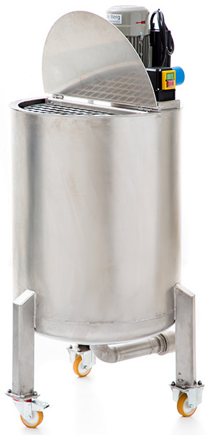 Stainless steel mixing tanks - Process tanks stainless steel