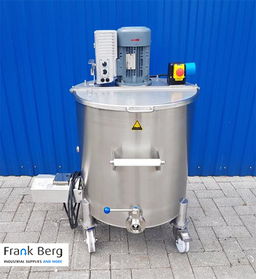 Electrically heated stainless steel mixing tanks - Melting kettle