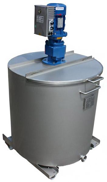 Edelstahlbehälter, Edelstahltanks mit Rührwerk, Rührwerksbehälter, Prozesstank edelstahl, V2A, V4A