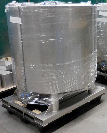 rvs tank dubbelwandig, rvs mengtank, rvs opslagtank, RVS procestank, RVS procesvat