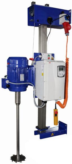 wall mounted agitator, tripod agitator, stand agitator, dissolver, dispersing mixer