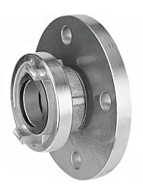 Storz flange coupling, storz fitting on flange